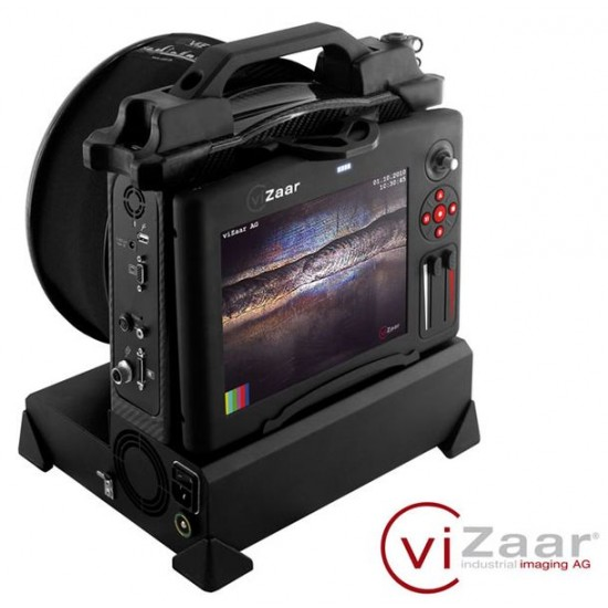 Vuman RA-Y Videoscope With LCD On Back of System
