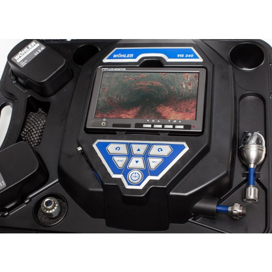 Wohler Vis 340 Inspection Camera Rental with high resolution LCD monitor