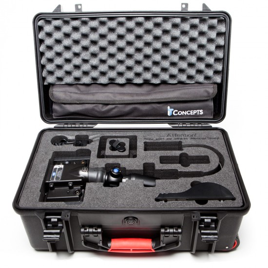 iris DVR 5 Videoscope Industrial Video Borescope with storage case