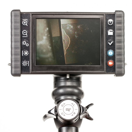 iRis DVR X Videoscope rental large 5 inch LCD