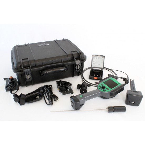 XL Lv video borescope with accessories
