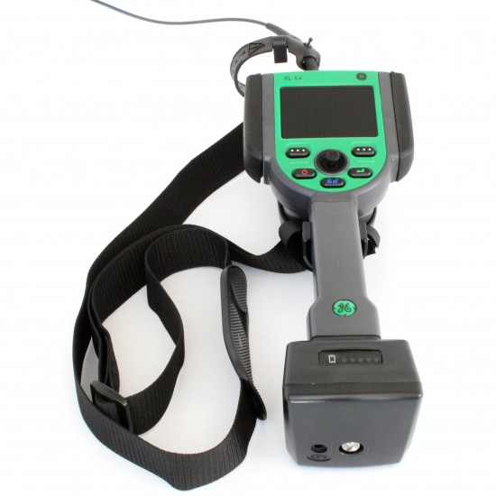 XL Vu and Lv neck strap on video borescope