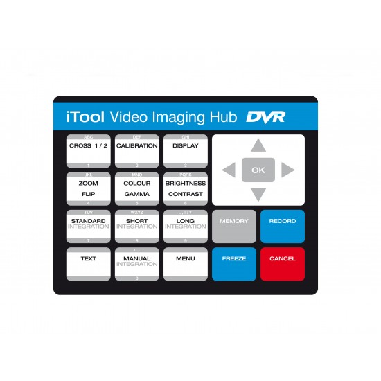 iTool Video Borescope Rental Keypad