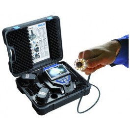 Wohler vis 250 inspection camera for seeing inside pipes, drains, sewers, heat exchanger tubes and HVAC