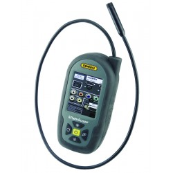 DCS350 Palmscope Portable Flexible Video Borescope  with probe extended
